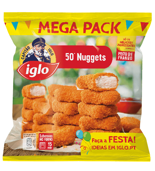 Nuggets Frango Original 50 unidades