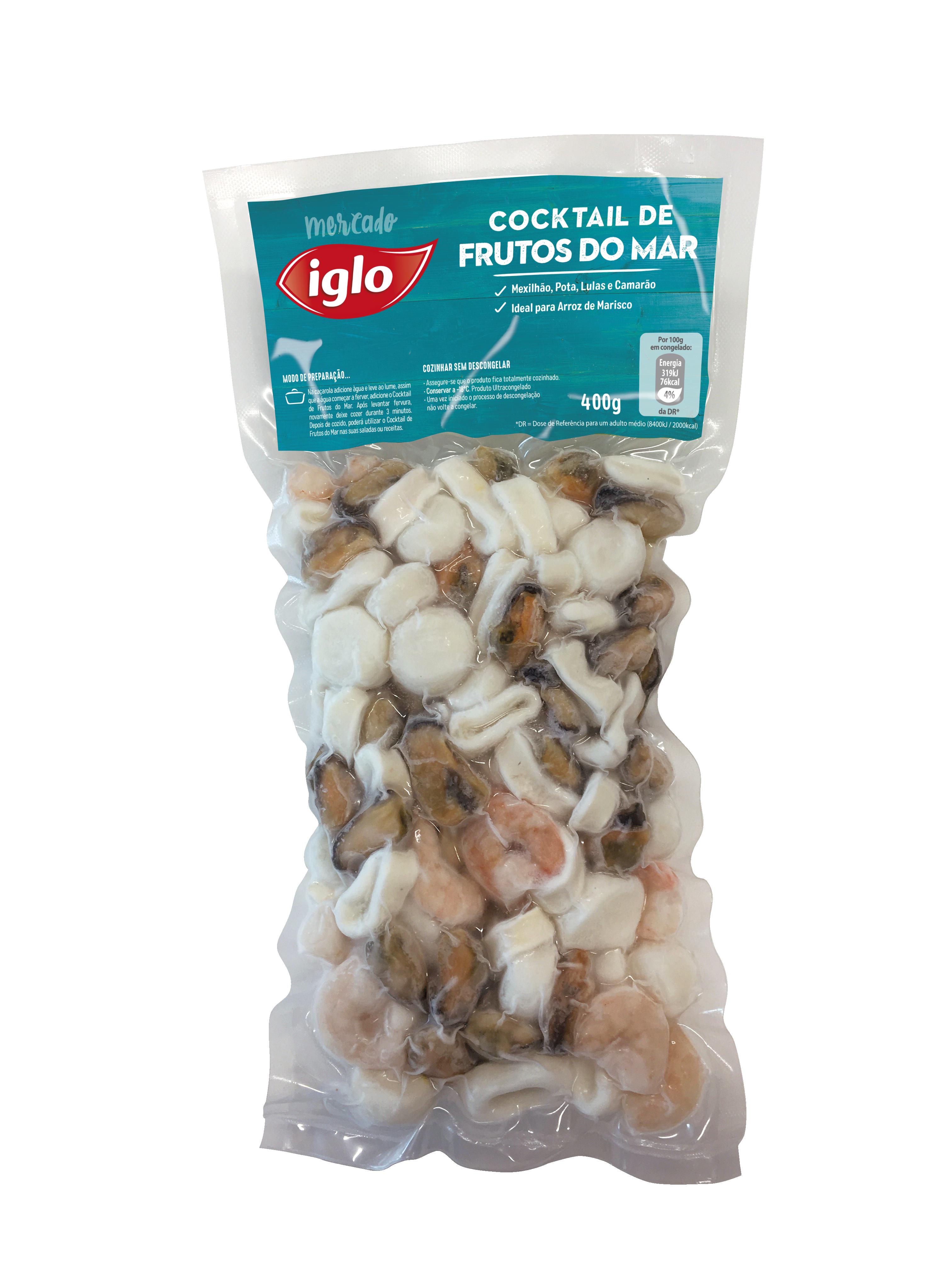 cocktail de frutos do mar