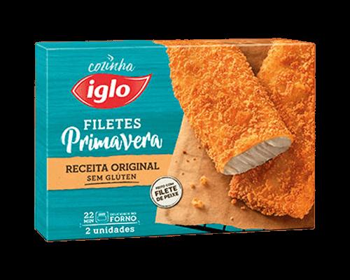 Filetes Primavera Originais Sem Gluten - Iglo PT
