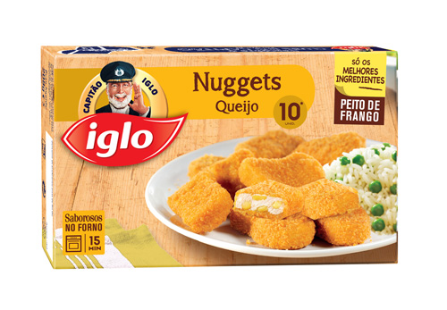 10 Nuggets de Frango e Queijo