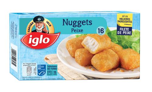 16 Nuggets de Peixe