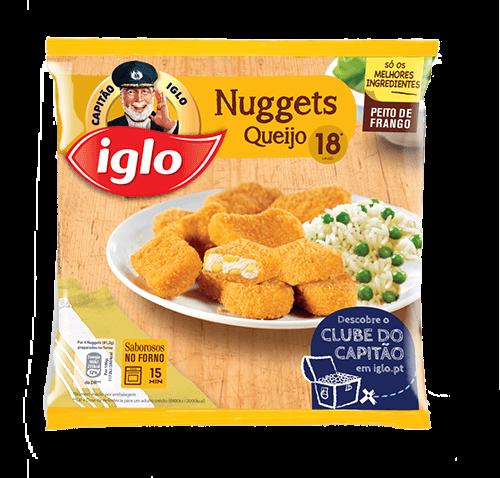 nuggets queijo iglo