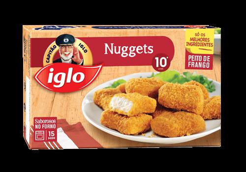 nuggets frango 10 unidades