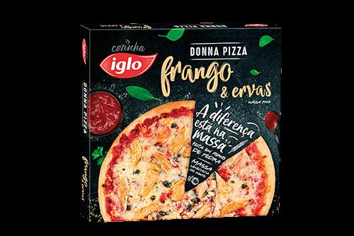 Pizza Frango & Ervas 365g