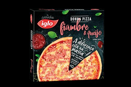 Pizza Queijo & Fiambre 351g