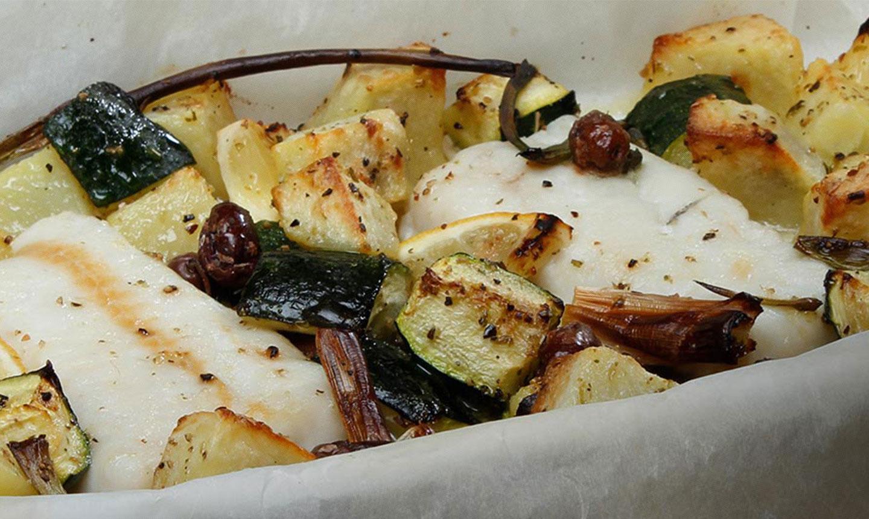 Ricetta Filetti Di Merluzzo Al Forno Con Verdure Saporite