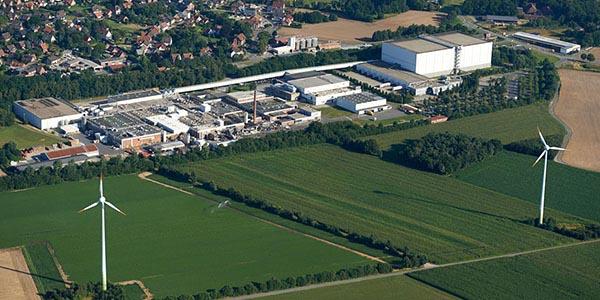 Iglo fabriek in Reken, Duitsland