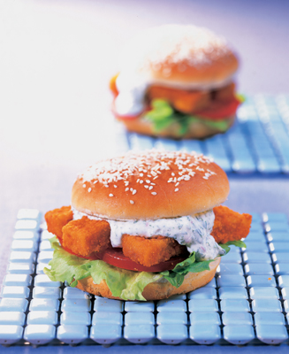 Visstickburger