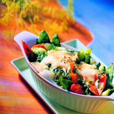 Kaas groenten