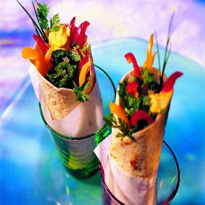 Spinazie burritos