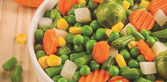 Kom met groenten