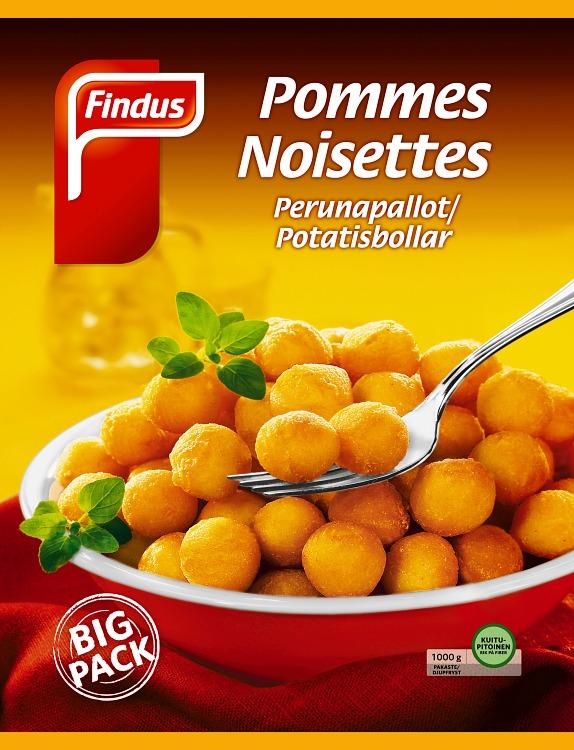 Perunapallot Pommes Noisettes Big Pack