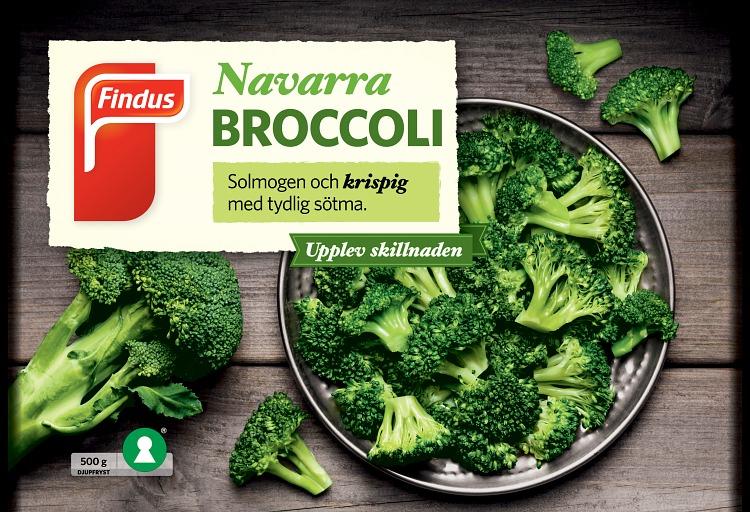 förpackningsomslag navarra broccoli