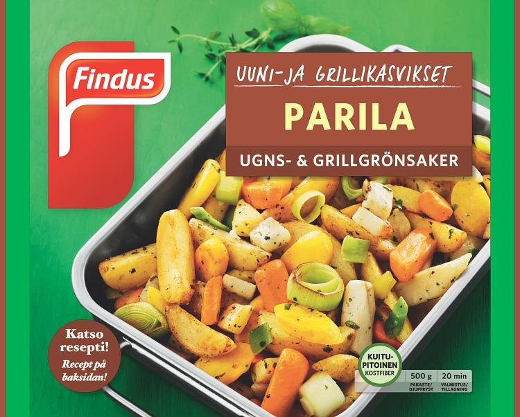 Uuni- ja grillikasvikset Parila