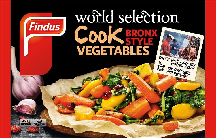 COOK Vegetables Bronx wokkivihannekset