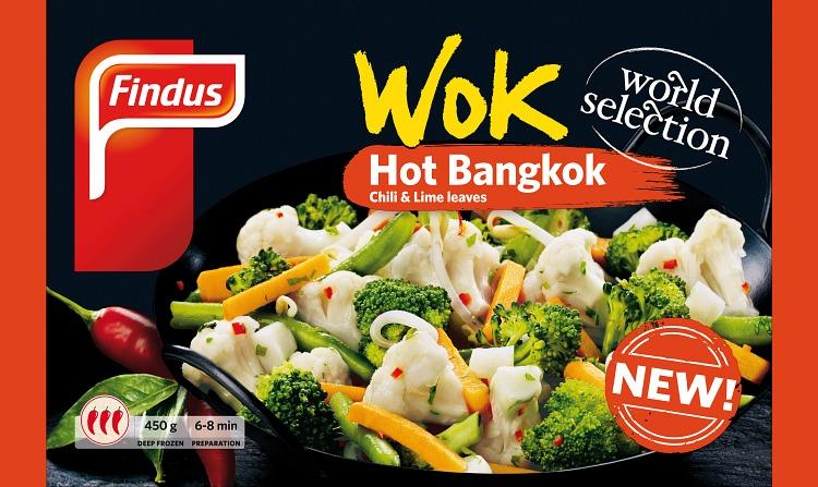 Wok Hot Bangkok wokkivihannekset