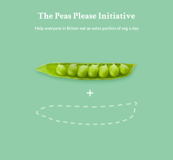 The peas please initiative, eat more peas benefit from of eating more vegetables.