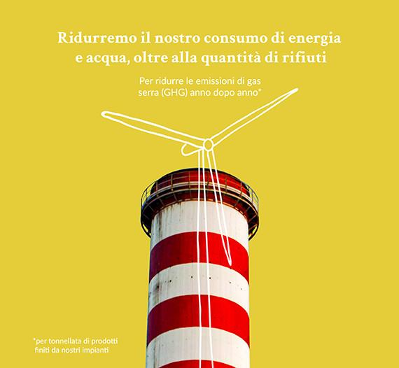 Produzione Findus sostenibile - risparmio energetico e idrico