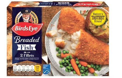 2 Fish Fillets in Breadcrumbs