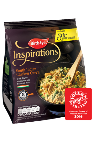 Birds Eye Inspirations South Indian Chicken Curry with Basmati Rice Frozen
