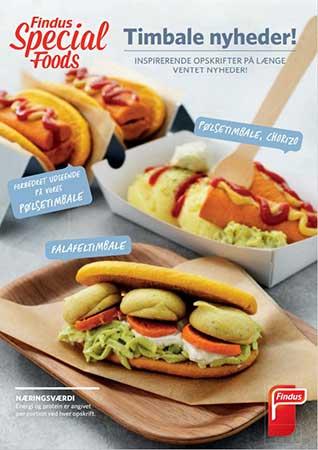 Brochuer Findus Special Foods timbale opskrifter