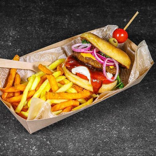 BBQ Green Cuisine juustoburgerit