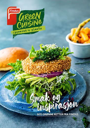 Green Cuisine - smakfulle grønne menyer fra Findus Foodservices