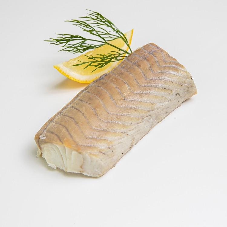 Produktbilde: Naturell seifilet gourmet, 2 stk på trefjøl.