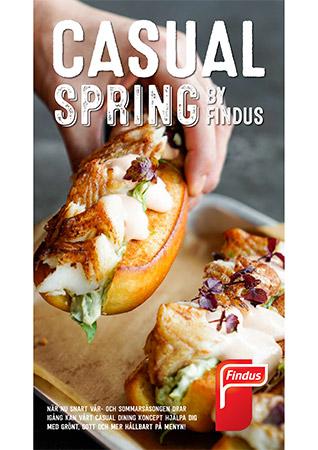 Casual spring inspirationsblad framsida