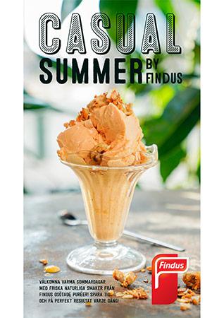 Casual summer inspirationsblad framsida