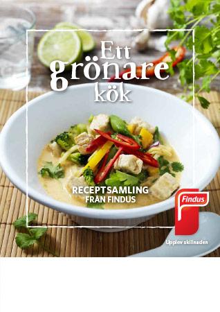 Ett grönare kök receptbok framsida