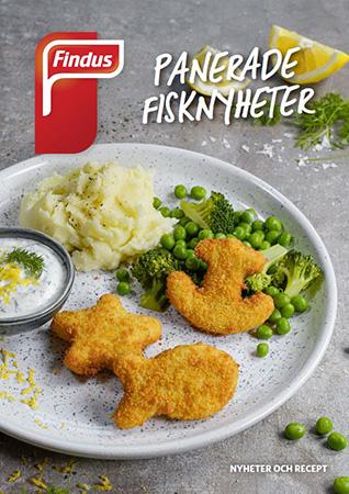 Findus Foodservices receptfolder för panerade fisknyheter