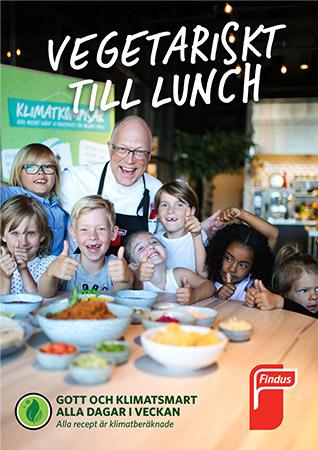 Vegetariskt till lunch inspirationsblad framsida