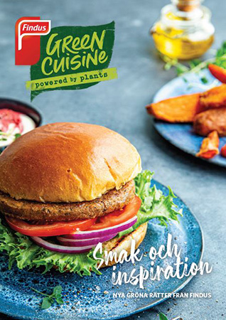 Findus Foodservices Green Cuisine folder framsida