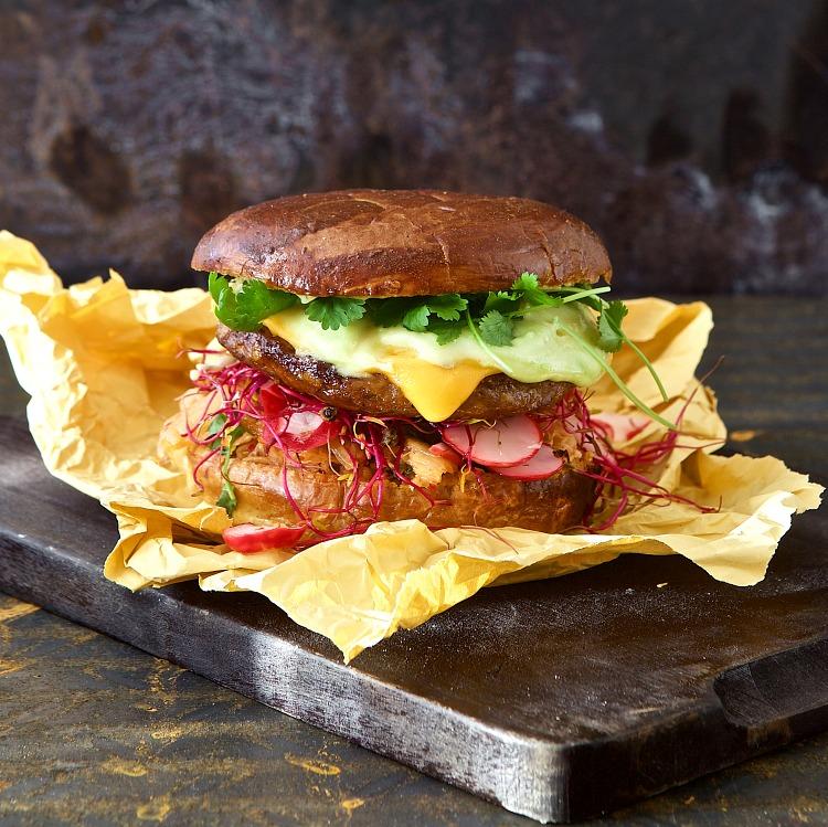 Quorn Vegan Burger, 80 gram