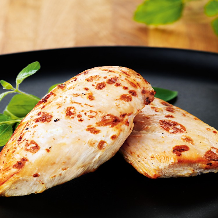 Stekt kycklingfilé med fin yta