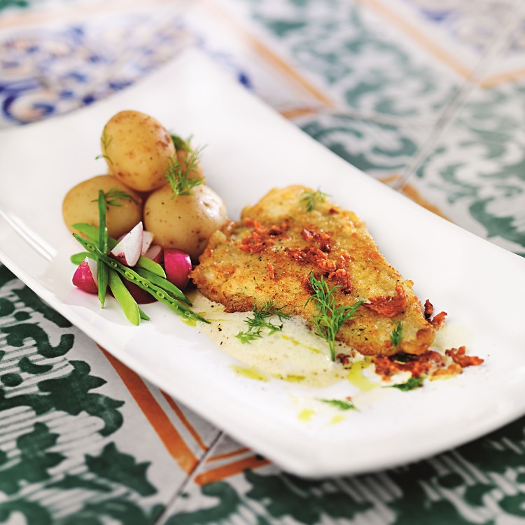 Lättpanerad fiskfilé, MSC-märkt, 100-130 gram