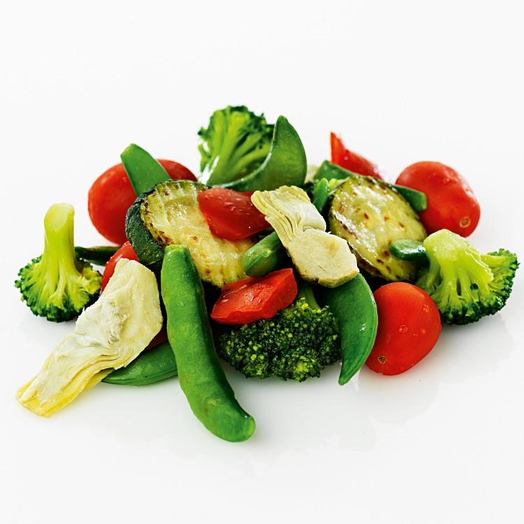 Grönsaksmix med broccoli och kronärtskocka