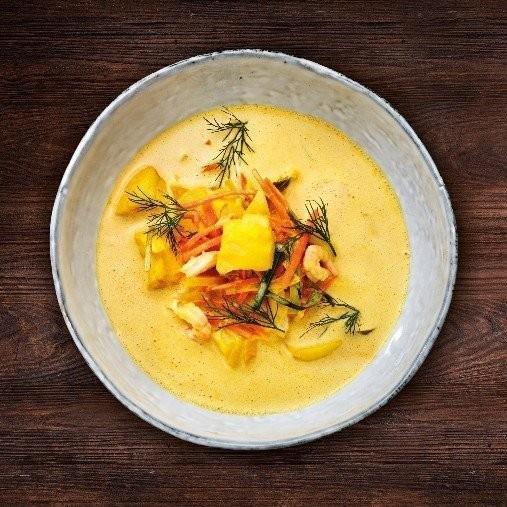 Fisksoppa med saffran