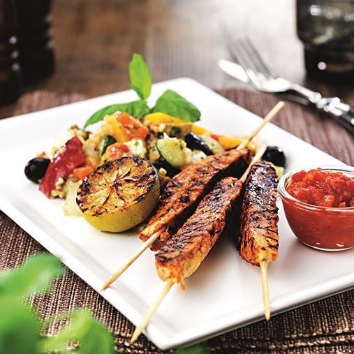 Quornspett med ingefära/tomatsås och bulgurpytt
