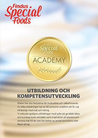 Special Foods academy utbildningsfolder framsida