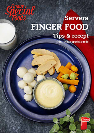 Findus finger food inspirationsblad framsida