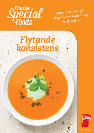 Special foods inspirationsblad flytande konsistens