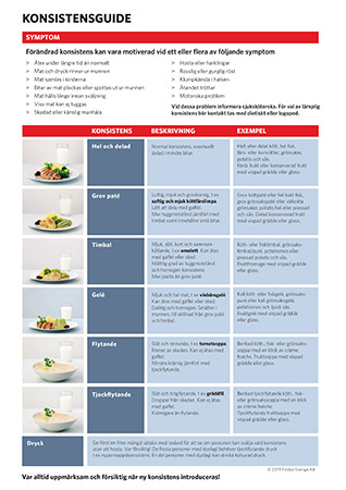 Special foods konsistensguide