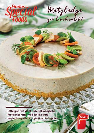 Matglädje ger livskvalitet  inspirationsblad framsida