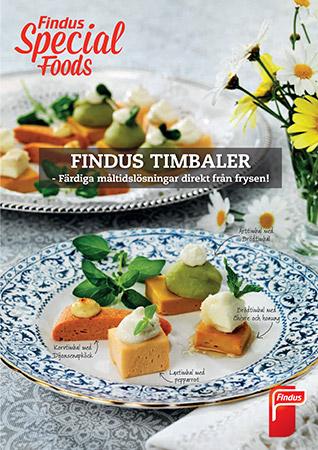 Findus timbaler inspirationsblad framsida