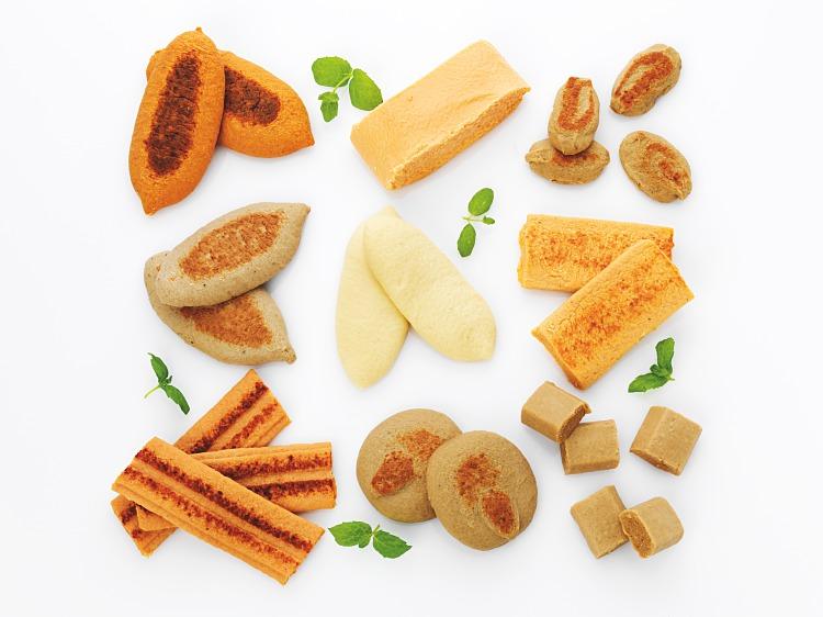 Special Foods sortimentslåda kött och fisktimbaler i olika former och smaker