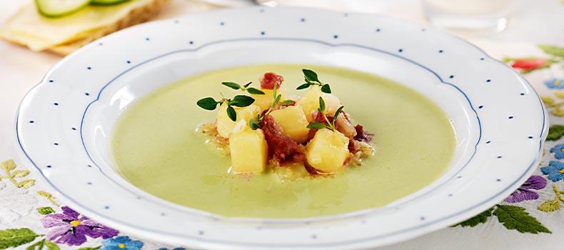 Soppa med potatis