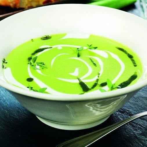 Grön ärtsoppa