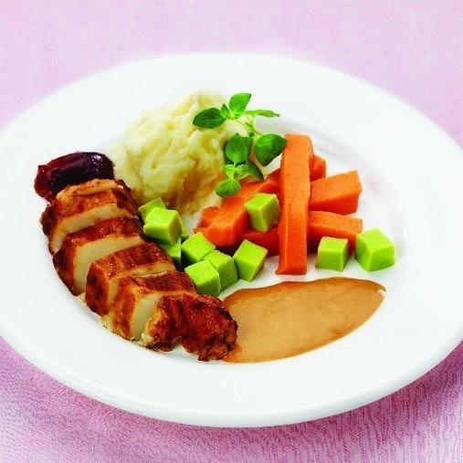 Kyckling, kokt eller stekt